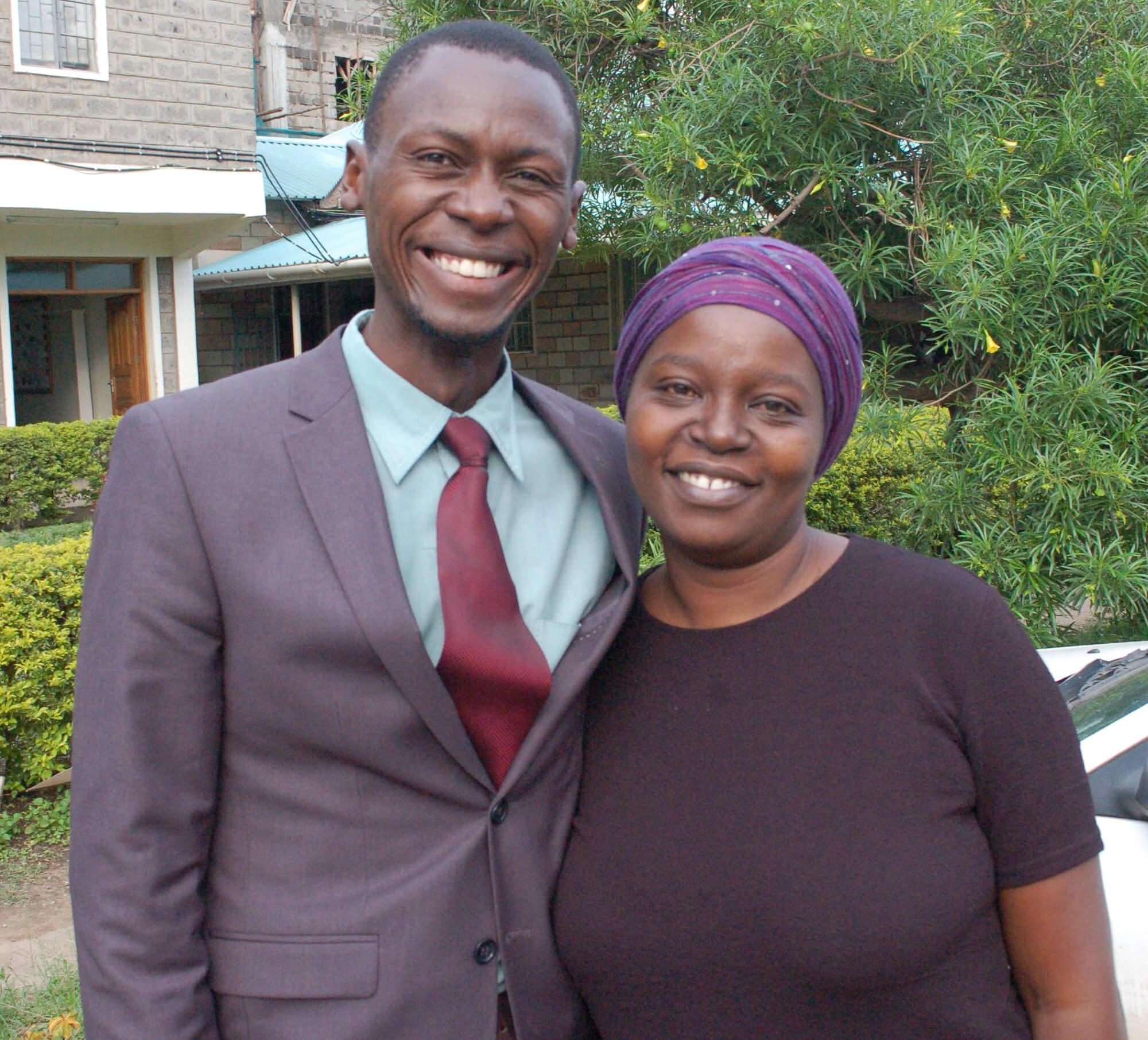 Eric Abwao and Jedidah Abwao
