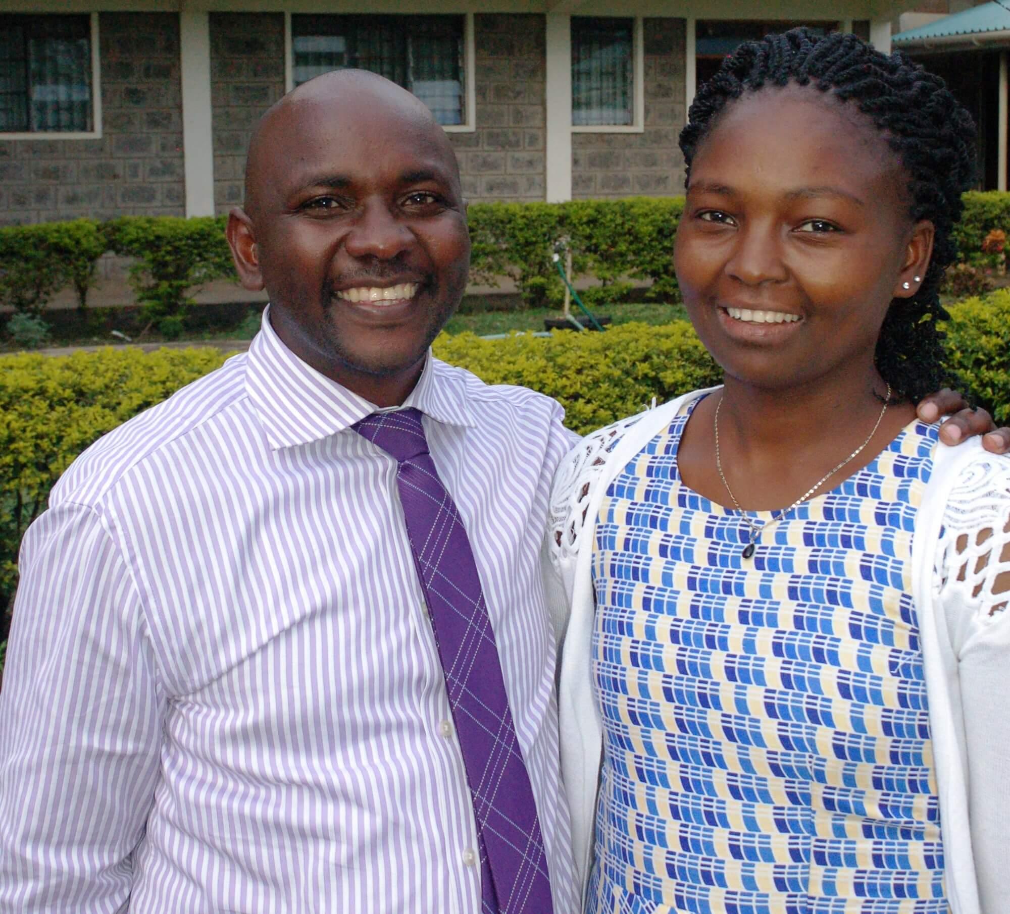 Murungi Igweta and Charity Murungi