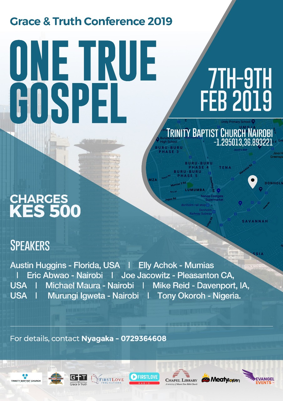 Grace Truth Conference 2019 Trinity Baptist Church